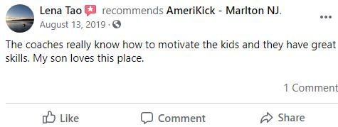 Kids2, Amerikick Martial Arts Marlton, NJ